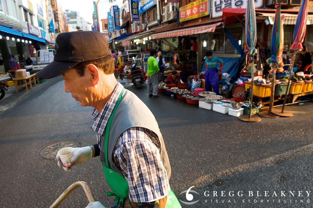 Jagalchi Market - Busan - South Korea