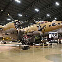 The Boeing B-17G Flying Fortress was the workhorse bomber during WW II. (USAF Mus.)