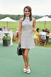 SAMANTHA BARKS at the St.Regis International Polo Cup at Cowdray Park, Midhurst, West Sussex on 17th May 2014.