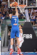 DESCRIZIONE: Torino FIBA Olympic Qualifying Tournament Italia - Tunisia<br /> GIOCATORE: Andrea Bargnani<br /> CATEGORIA: Nazionale Italiana Italia Maschile Senior<br /> GARA: FIBA Olympic Qualifying Tournament Italia - Tunisia<br /> DATA: 04/07/2016<br /> AUTORE: Agenzia Ciamillo-Castoria