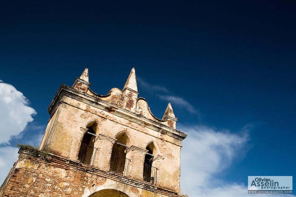 Colonial church near Trinidad, Cuba on Wednesday August 6, 2008.