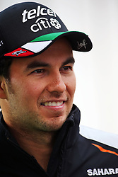 Sergio Perez (MEX) Sahara Force India F1.<br /> 27.10.2016. Formula 1 World Championship, Rd 19, Mexican Grand Prix, Mexico City, Mexico, Preparation Day.<br /> Copyright: Batchelor / XPB Images / action press