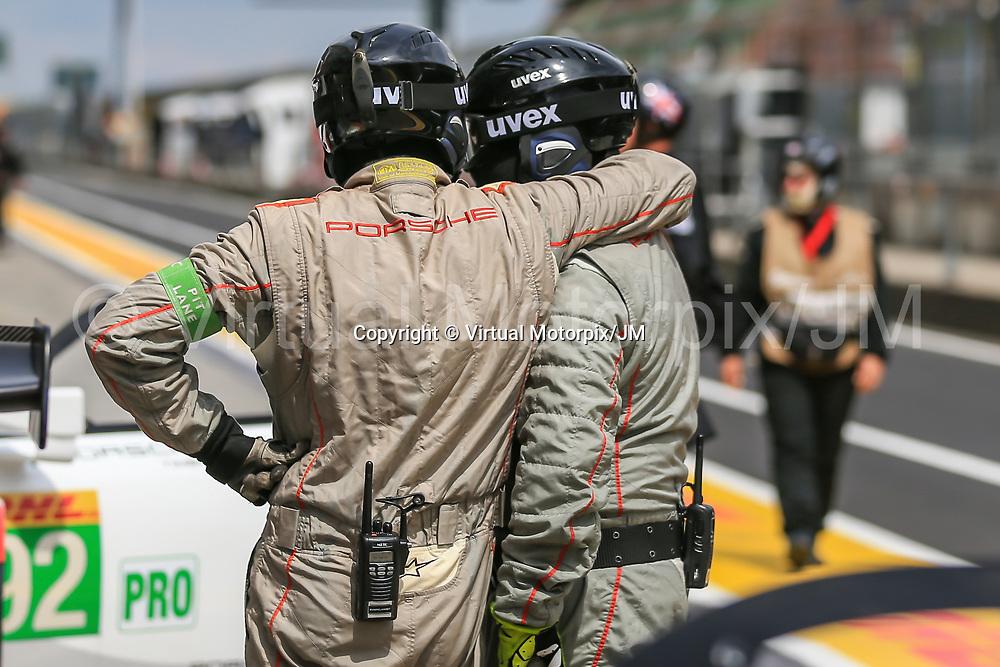 #91, Porsche Motorsport, Porsche 911 RSR (2017), driven by: Richard Lietz, Frederic Makowiecki, 6 hours of Nurburgring 2017, 15/07/2017,