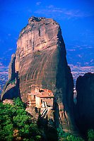 Roussanou (a.k.a. Ayia Barbara) Monastery, the Meteora, near Kalambaka, Greece