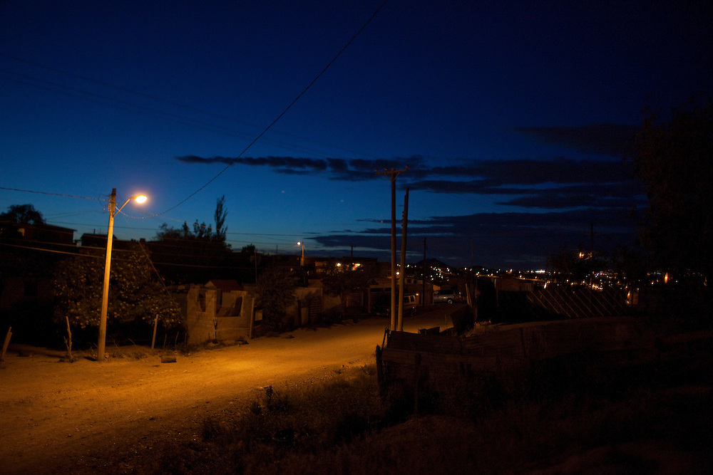 A view of the Diaz Ordaz colonia in Ciudad Juarez, Chihuahua Mexico on May 1, 2010. ..
