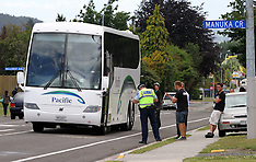 Rotorua-Pedestrian hit by bus on Old Taupo Road