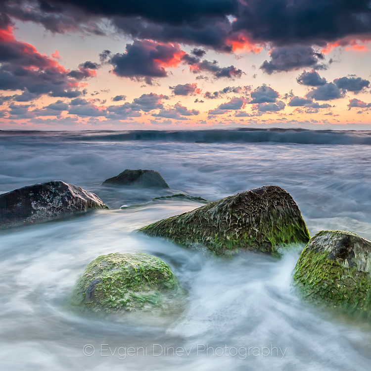 Morning seascape from Irakli beach