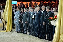 Prizegiving Rolex World Cup<br /> Mercedes CSI-W Zurich 2013<br /> © Hippo Foto - Katja Stuppia