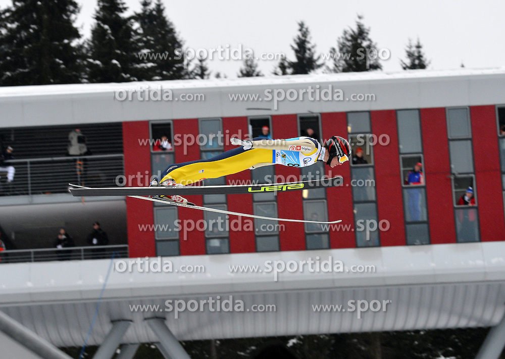 13.02.2013, Vogtland Arena, Kingenthal, GER, FIS Ski Sprung Weltcup, im Bild Matjaz PUNGERTAR (SLO) // during the FIS Skijumping Worldcup at the Vogtland Arena, Kingenthal, Germany on 2013/02/13. EXPA Pictures © 2013, PhotoCredit: EXPA/ Eibner/ Bert Harzer..***** ATTENTION - OUT OF GER *****