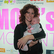NLD/Amsterdam/20130530 - Mom's moment , Barbara Barend en dochter Livia