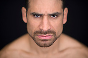 LAS VEGAS, NEVADA - JANUARY 01:  UFC  lightweight Danny Castillo poses for a portrait during a UFC photo session inside the MGM Grand Conference Center on January 1, 2015 in Las Vegas, Nevada. (Photo by Jeff Bottari/Zuffa LLC/Zuffa LLC via Getty Images) *** Local Caption ***Danny Castillo