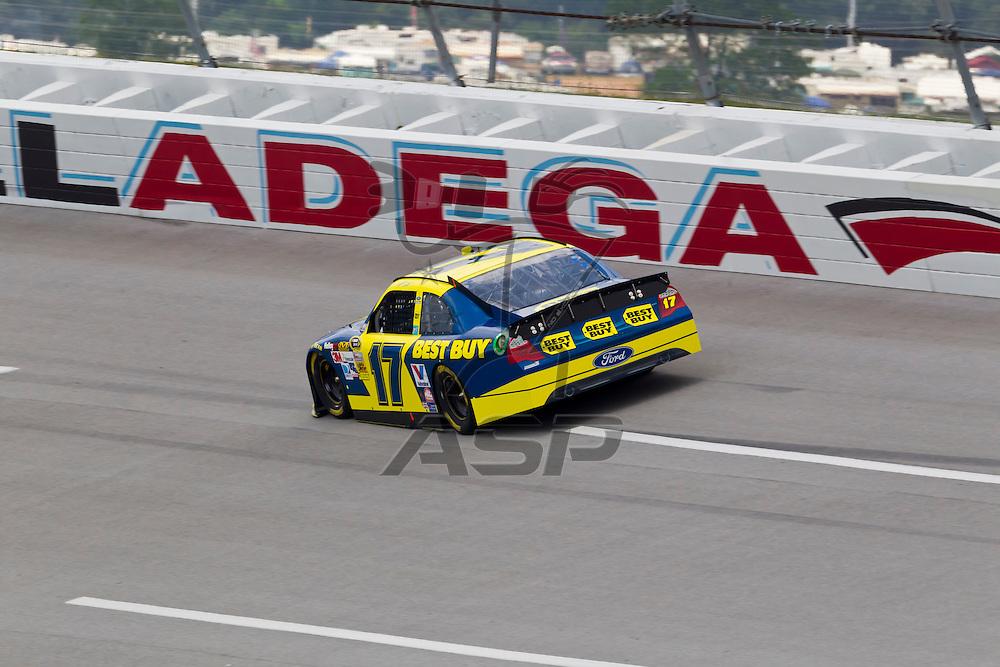 TALLADEGA, AL - MAY 05, 2012:  The NASCAR Sprint Cup teams qualify for the Aaron's 499 at the Talladega Superspeedway in Talladega, AL.