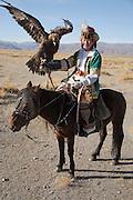 Eagle Hunting festival near Sagsai, Bayan-Ölgii, Mongolia