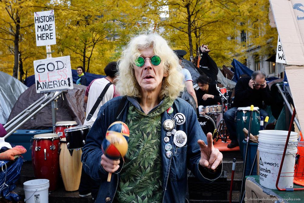 Zucotti Park NY, November 13, 2011
