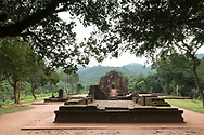 The ruins of Cham Temple in Group G at the My Son Sanctuary, Quang Nam Province, Vietnam, Southeast Asia
