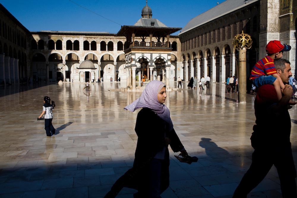 Syria, Damascus, Umayyad mosque.