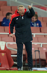LONDON, ENGLAND - Friday, March 4, 2016: Liverpool's manager Neil Critchley during the FA Youth Cup 6th Round match against Arsenal at the Emirates Stadium. (Pic by Paul Marriott/Propaganda)