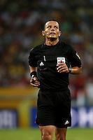 Fifa Brazil 2013 Confederation Cup / Group B Match /<br /> Spain vs Tahiti  10-0  ( Jornalista Mario Filho - Maracana Stadium - Rio de Janeiro , Brazil )<br /> Djamel HAIMOUDI - Referee , during the match between Spain and Tahiti
