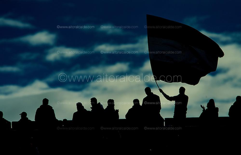 GRANADA, SPAIN - DECEMBER 03:  Fans of Granada cheers during the La Liga match between Granada CF and Sevilla FC at Estadio Nuevos Los Carmenes on December 03, 2016 in Granada, Spain.  (Photo by Aitor Alcalde Colomer/Getty Images)