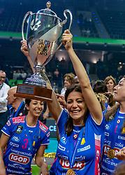 18-05-2019 GER: CEV CL Super Finals Igor Gorgonzola Novara - Imoco Volley Conegliano, Berlin<br /> Igor Gorgonzola Novara take women's title! Novara win 3-1 / Stefania Sansonna #11 of Igor Gorgonzola Novara
