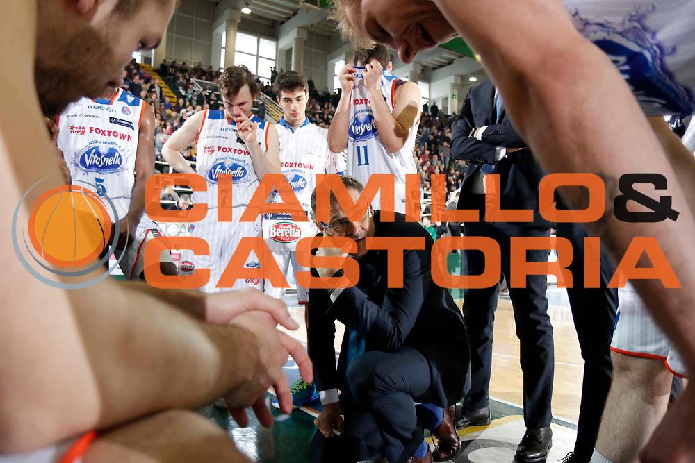 Avellino 06/03/2016 - Basket Lega A Campionato Italiano Pallacanestro 2015-16<br /> Sidigas Avellino - Acqua Vitasnella Cantu<br /> nella foto: Sergey Bazarevich<br /> foto Ciamillo