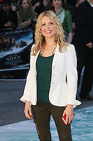 Melinda Messenger, Noah - UK film premiere, Odeon Leicester Square, London UK, 31 March 2014, Photo by Richard Goldschmidt
