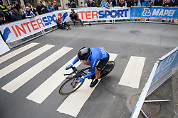 Elisa Longo Borghini at UCI Road World Championships Elite Women's Individual Time Trial 2017 a 21.1 km time trial in Bergen, Norway on September 19, 2017. (Photo by Sean Robinson/Velofocus)