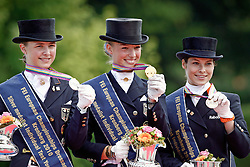 Prizegiving Young Riders<br /> European Championship Young Riders 2010<br /> © Hippo Foto - Leanjo de Koster