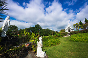 St. Benedict's Painted Church, Captain Cook, The Big Island, Hawaii USA