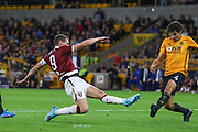 Andrea Belotti of Torino during the Europa League play off leg 2 of 2 match between Wolverhampton Wanderers and Torino at Molineux, Wolverhampton, England on 29 August 2019.