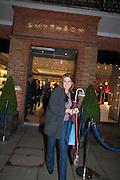 FRANCESCA VERSACE, Smythson Sloane St. Store opening. London. 6 February 2012.