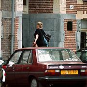 Rene Soutendijk + Ted Lenssen verhuizen naar nieuwe woning Nassaulaan 45 Amsterdam
