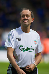 BIRKENHEAD, ENGLAND - Saturday, July 12, 2008: Liverpool's club Doctor Mark Waller during his side's first pre-season match of the 2008/2009 season against Tranmere Rovers at Prenton Park. (Photo by David Rawcliffe/Propaganda)