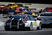 April 29-May 1, 2016: IMSA Monterey Sportscar Grand Prix. #911 Patrick Pilet, Nick Tandy, Porsche North America, Porsche 911 RSR GTLM