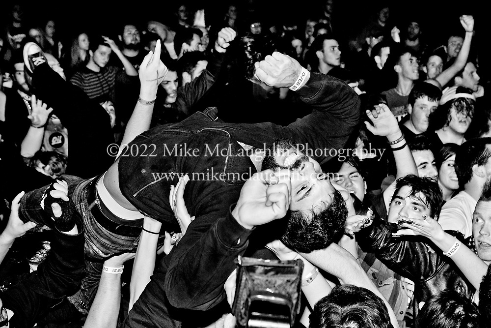 November 09, 2013 Asbury Park, New Jersey.<br /> Anti-Flag perform at Asbury Lanes in Asbury Park, New Jersey.<br /> &copy;2014 Mike McLaughlin<br /> www.mikemclaughlin.com<br /> All Rights Reserved