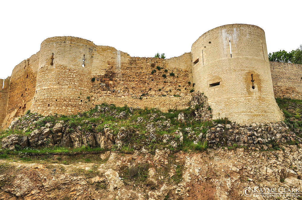 The castle of William the Conqueror (Château Guillaume-le-Conquerant) in Falaise, France.