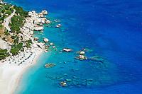 Grece, Dodecanese, Karpathos, plage d'Apella // Greece, Dodecanese, Karpathos island, Apella beach