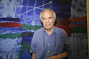 ALBERT IRVIN, Gimpel Fils 60th Anniversary Exhibition. Davies St. London. 27 July 2006. ONE TIME USE ONLY - DO NOT ARCHIVE  © Copyright Photograph by Dafydd Jones 66 Stockwell Park Rd. London SW9 0DA Tel 020 7733 0108 www.dafjones.com