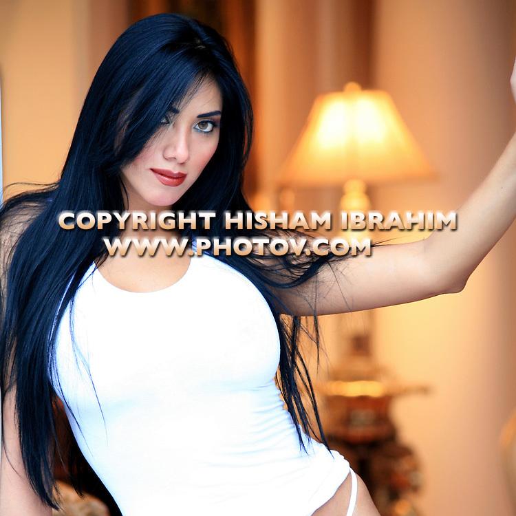 Beautiful Sexy Latin Woman.
