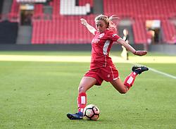 Megan Alexander of Bristol City Women in action against Reading FC Women - Mandatory by-line: Paul Knight/JMP - 22/04/2017 - FOOTBALL - Ashton Gate - Bristol, England - Bristol City Women v Reading Women - FA Women's Super League 1 Spring Series