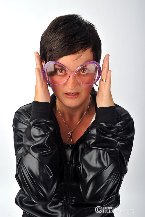 Zoe Lyons. Poster shoot.
