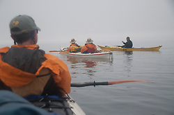 Taylor with Brian and Nick Listen to Jason, Haro Strait, San Juan Islands, Washington
