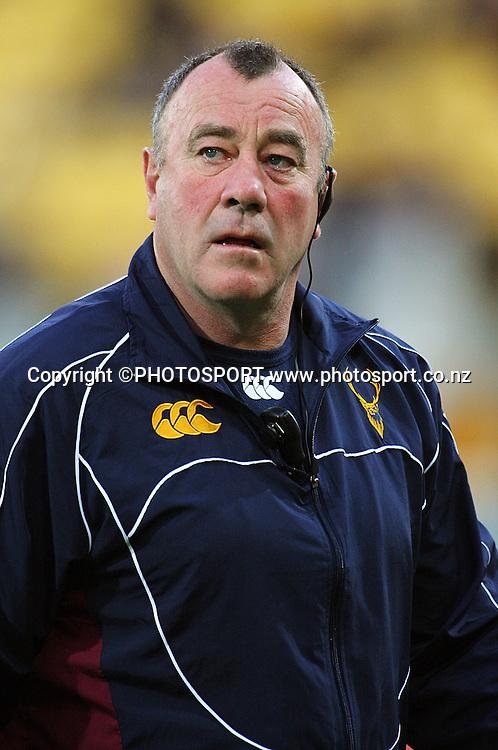 Southland manager Leicester Rutledge.<br /> Air NZ Cup semi-final. Wellington Lions v Southland Stags at Westpac Stadium, Wellington, New Zealand, Friday, 17 October 2008. Photo: Dave Lintott/PHOTOSPORT