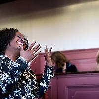 Nederland, Amsterdam , 1 februari 2012..Elvira Sweet in museum ons lieve heer op Solder op de Nieuwezijds Achterburgwal..Elvira Sweet werd op 18 april 2011 geïnstalleerd als gedeputeerde van de provincie Noord-Holland voor Cultuur, Bestuur en Zorg..Foto:Jean-Pierre Jans
