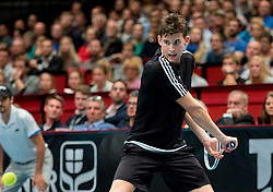 23.10.2016, Stadthalle, Wien, AUT, ATP Tour, Erste Bank Open, Tie Break Tens, Gruppe A, im Bild Dominc Thiem (AUT) // Dominc Thiem of Austria during a Tie Break Tens, group A, match of Erste Bank Open of ATP Tour at the Stadthalle in Vienna, Austria on 2016/10/23. EXPA Pictures © 2016, PhotoCredit: EXPA/ Sebastian Pucher
