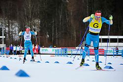LUKYANENKO Vitaliy Guide: BABAR Borys, UKR at the 2014 IPC Nordic Skiing World Cup Finals - Sprint