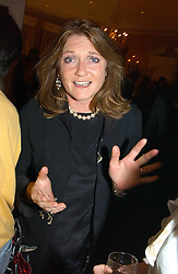 LEONORA, COUNTESS OF LICHFIELD at a private view of jewellery designed and made by Luis Miguel Howard held at 30 Pavillion Road, London on 27th October 2004.<br /><br />NON EXCLUSIVE - WORLD RIGHTS