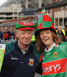 Kevin and Anna Tighe from Aghamore at the All Ireland final replay.<br />
