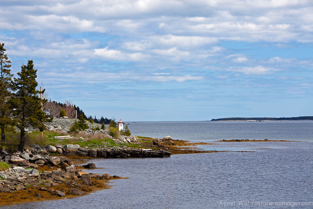 North America, Canada, Nova Scotia. Secenery along the Eastern Shore.