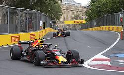 April 29, 2018 - Baku, Azerbaijan - Motorsports: World Championship; 2018; Grand Prix Azerbaijan, Grand Prix of Europe, Formula 1 2018 Azerbaijan Grand Prix, .#33 Max Verstappen (NDL, Red Bull Racing) (Credit Image: © Hoch Zwei via ZUMA Wire)